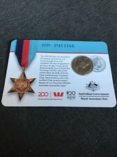 2017 Legends of the Anzacs Medal Collection 1939 - 1945 Star COIN 11