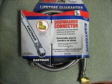 New listing Eastman dishwasher connector 5 foot, fits all models new in package