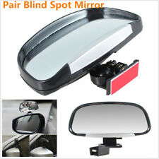 Vehicle Car Blind Spot Square Wide Angle Rear Mirrors Side Rear View Pair Hot