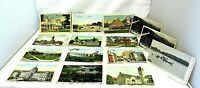 Antique & Vintage PA Postcards Lot of 15 JB Hoffman CT Amer. Art Linen Mixed Lot