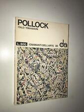 POLLOCK - DI ITALO TOMASSONI - I DIAMANTI DELL'ARTE 38, SADEA, SANSONI ED. 1968