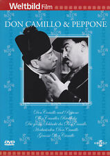 DON CAMILLO & PEPPONE 5 DVDs, sehr gut
