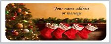 Personalized address labels Christmas Buy 3 get 1 free (xbo 873)