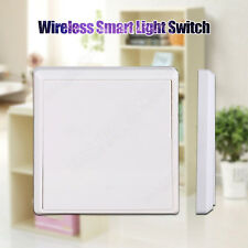 110V 1Gang Wall Smart Switch Receiver Kit Wireless Home Office Light White su