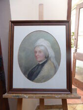PORTRAIT OF A VICTORIAN GENTLEWOMAN ARTIST K MAY FREE SHIPPING TO ENGLAND