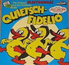Electronica's Ouietsch-Fidelio, VG+/EX  LP (6747)