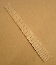 "Maple Fretboard. 24.75"" scale. 22 fret slots. 1 11/16"" nut. Flat - No radius."