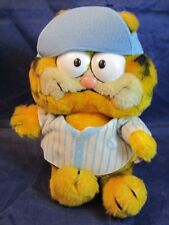 vintage Garfield Baseball Plush stuffed animal toy by Dakin