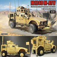 T-Model GH72A01 1/72 Scale US M1240 M-ATV MRAP All Terrain Vehicle Model Set Kit