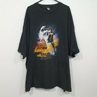 Vintage Back to the Future Graphic T-shirt Size 5XL Marty McFly RARE