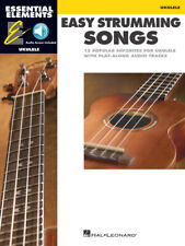 ESSENTIAL ELEMENTS UKULELE EASY STRUMMING SONGS MUSIC BOOK/AUDIO ACCESS-NEW!!