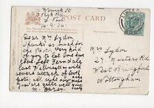 Mrs Lydon Musters Road West Bridgford Nottingham 1904 335a