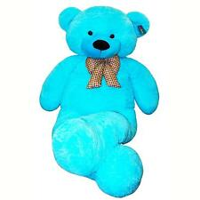 "Joyfay® Giant Teddy Bear 78"" 200cm Blue Stuffed Plush Toy Valentine Gift"