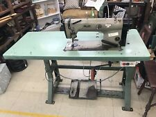 *Local Pickup* Pfaff 481 Industrial Sewing Machine Green Table Gooseneck Lamp