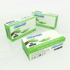 50 PCS MECHANICAL GREEN NITRILE GLOVES,POWDER FREE,8MIL,LARGE