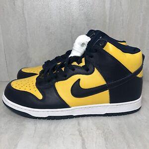 Nike Dunk High Michigan (2020)(CZ8149-700) Men's Size 11 DS