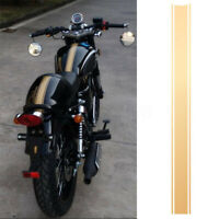 Motorcycle Tank Fairing Cowl Vinyl Stripe Pinstripe Decal Gold For Cafe Racer /