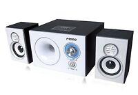 REFURBISHED Ricco T2125 Bluetooth 2.1 Channel Speaker FM Radio USB SD 3.5mm AUX