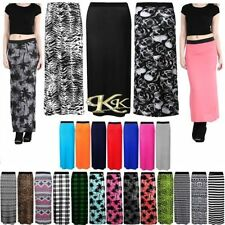 Viscose Casual Maxi Skirts for Women