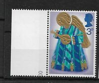 1972 GB GREAT BRITAIN,SG914a CAT £1100 STAMP ERROR,RED-BROWN OMITTED,MNH,ANGELS