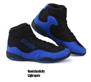 Boxing Wrestling Fighting Shoes Male Soft Breathable Wearable Training Boxing