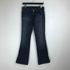 """7 For All Mankind Jeans - """"A"""" Pocket Boot Dark Wash Tag Size: 27 (28x32.5) #5799"""