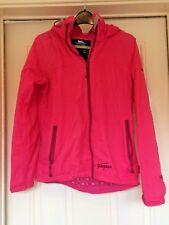 Trespass Technical Performance TP75 Pink Rain Coat With Hood Size S B22