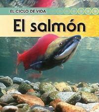 El salmón (El ciclo de vida) (Spanish Edition), Royston, Angela, Good Condition,