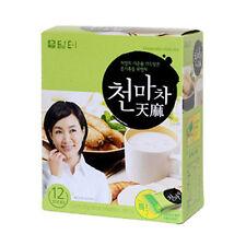 Damtuh Gastrodia Elata Tea (12 pcs), Chunma Cha, Korean Tea, Gastrodia Tea