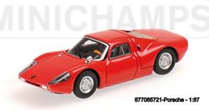 MINICHAMPS 877065721 - PORSCHE 904 GTS – 1964 – RED L.E. 300 pcs. 1:87
