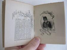 Almanach pour 1891 par Henri Boutet eaux-fortes femmes parisienne calendrier