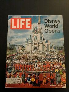 Rare Life Magazine Disney World Opens October 15, 1971 (50th Anniversary 2021)