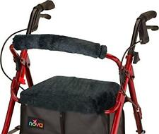 Rollator Walker Seat Back Cover Style Medical Mobility Equipment Black Washable