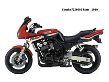 Motorcycle Canvas Picture Yamaha FZS600S Fazer 1999 Canvas 16x12 inch