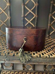 Original Bombay Jewelry Box with Key