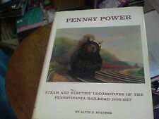 Pennsy Power Pennsylvania Railroad 1900-1957 by Alvin F. Staufer bill1