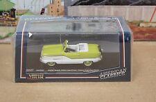 Sun Star Vitesse 36253 1:43 1959 Nash Metropolitan Convertible Green White MIB