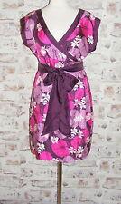 Warehouse Knee Length Silk V Neck Dresses for Women