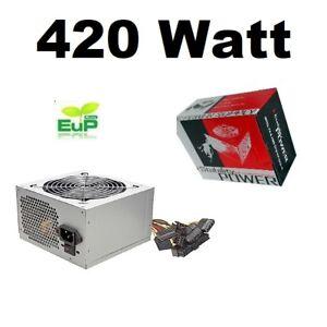ATX Netzteil Linkworld  LPW12-25 420 Watt SATA PCI-E Stability Power