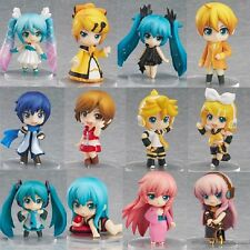 12pcs Cosplay Vocaloid Hatsune Miku Cute PVC Figure Model Toy Gift New In Box