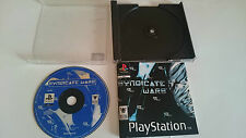 JUEGO SYNDICATE WARS PLAYSTATION 1 PS1 PSX.PAL.