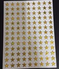 STICKER STAR JAPAN VINTAGE GOLD SCRAPBOOK DIY CRAFT PUFFY REWAR MATTE RE SCENT