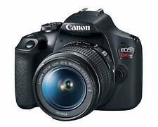 Canon 2727C002 EOS Rebel T7 DSLR Camera with 18-55mm Lens - Black, 24.1