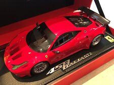 2011 Ferrari 458 Italia GT2 Red / Rouge BBR 1/18 (neuve / new)