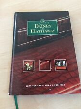 Daines & Hathaway 1922 Exceptionally Rare English Leather Product Hardback Book