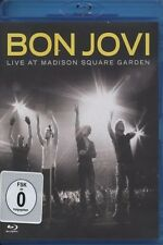 "BON JOVI ""LIVE AT MADISON SQUARE GARDEN"" BLU RAY NEW"