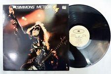 Simmons' Meteor vinyl LP (Kiss) Gene Simmons 1988 Round Records K45