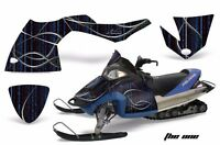 Snowmobile Graphics Kit Decal Sticker Wrap For Polaris Fusion 05-07 THE ONE BLUE