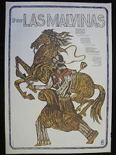 OSPAAAL Original Political Poster NICARAGUA CIA Anti Imperialist Aggression 1985