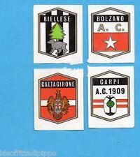 FIGURINA PANINI 1972/73-n.546- BIELLESE+BOLZANO+CALTAGIRONE+CARPI -Rec